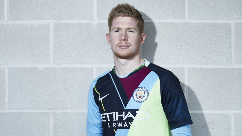 BACK STORY: The shirt pays homage to some of City's best-loved kits from the past six years