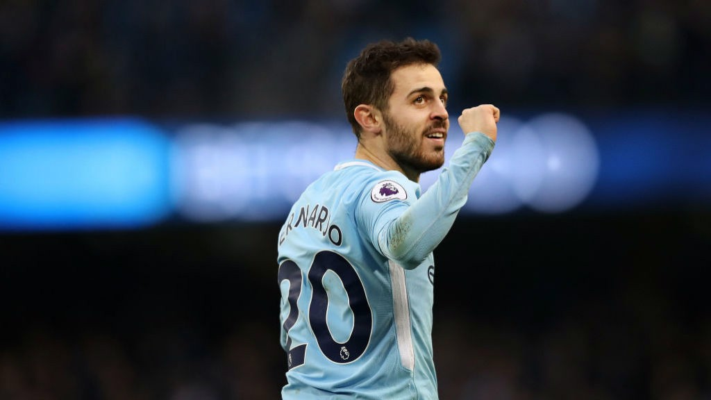 SILVA: Bernardo is the only Portuguese player in the current City squad.