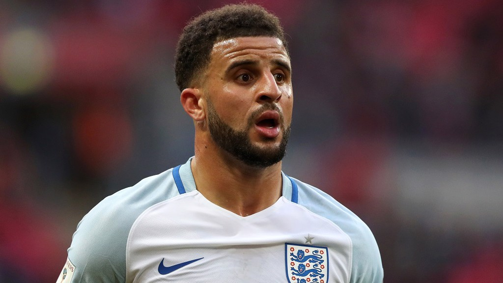 Another cap for England's attacking full-back...