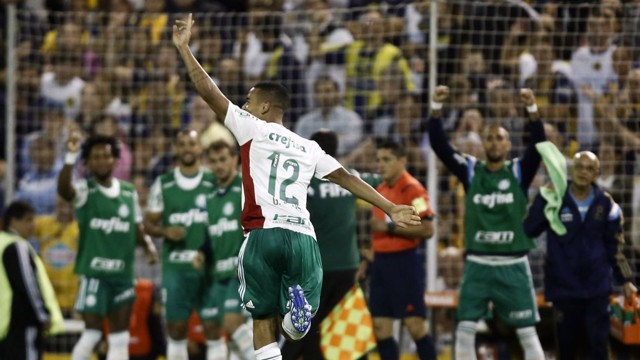 CHAMPION: To top off an exceptional 2016 for the 19-year-old, Jesus' Palmeiras won the Brasileiro.