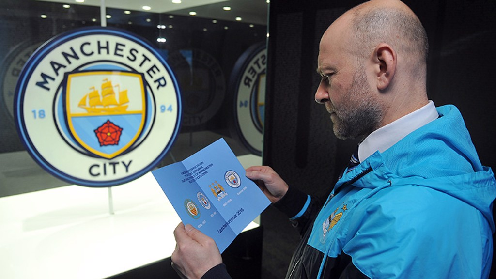 STUDYING THE HISTORY: One fan take a look at the new badge