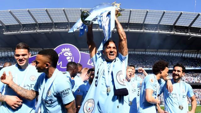 Danilo Campeão da Premier League
