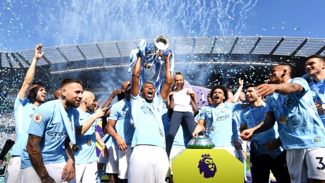 Fernandinho Campeão da Premier League