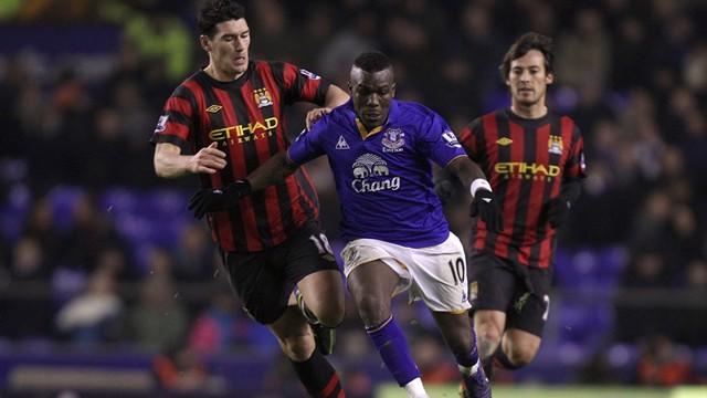 Gareth Barry Action Everton