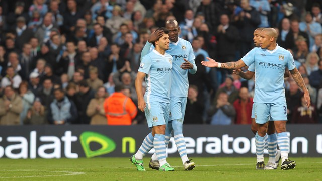 Balotelli contrats after goal