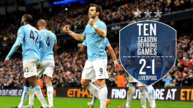 season defining games Liverpool