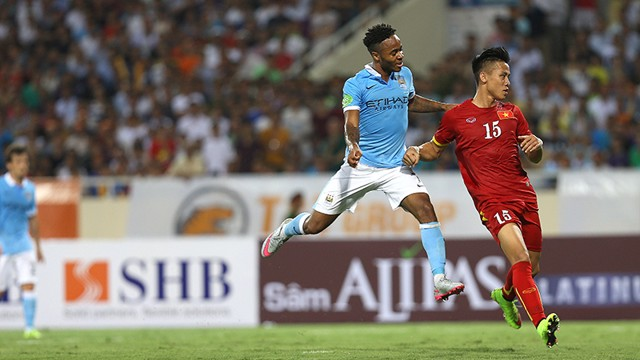 Raheem Sterling in action against Vietnam