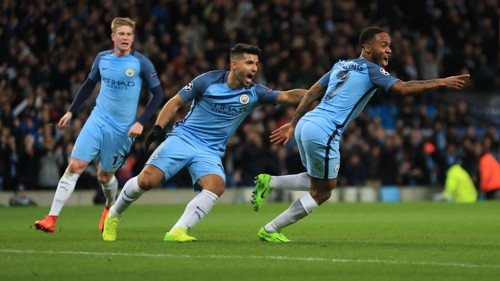 OPENER: Sterling celebrates putting City in front