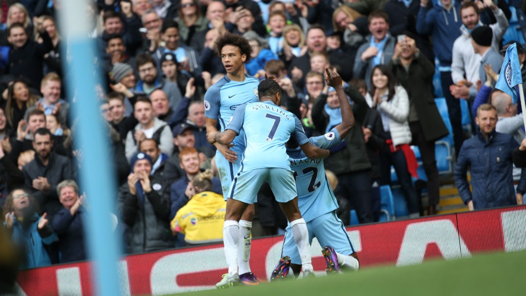 PURE JOY: Iheanacho reacts to getting City back on level terms