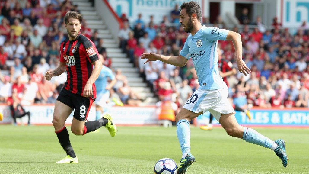 DANGER MAN : Bernardo launches another attack for City