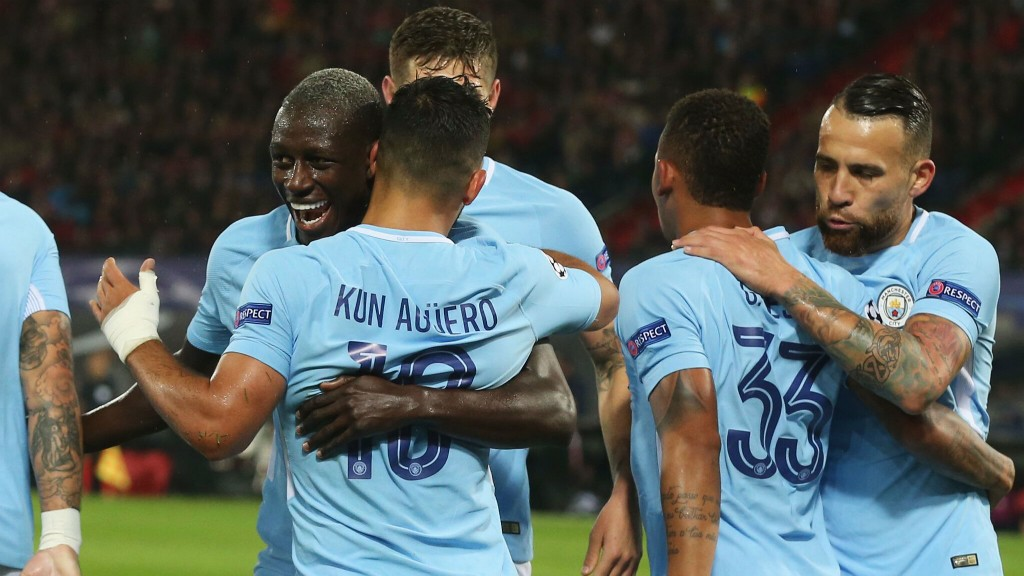 MENDY MOTIVATION: Benjamin Mendy is enjoying his time in sky blue so far