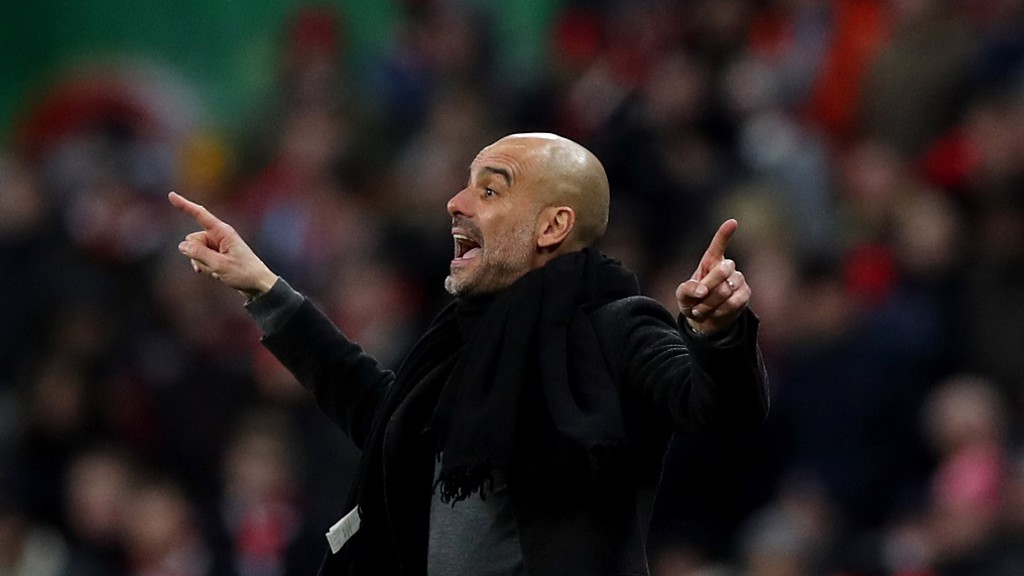 PEP: Conducting his orchestra