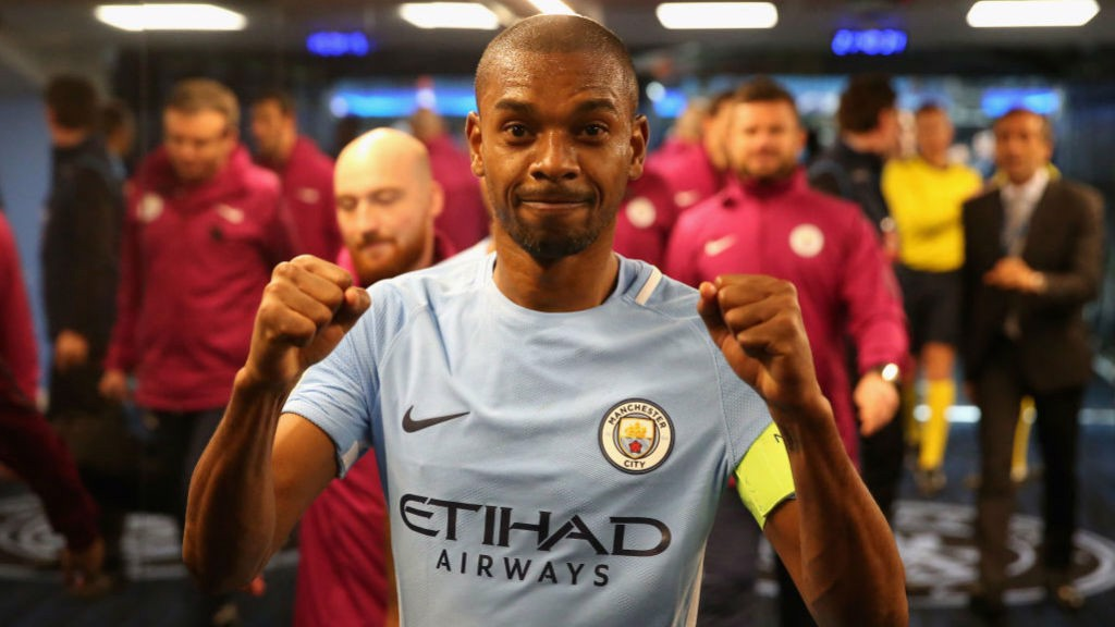 CELEBRATION TIME: For Fernandinho