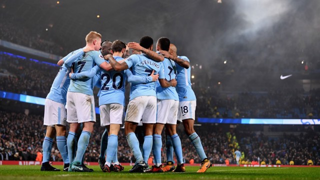 ​TOGETHER: City's winning run continues...