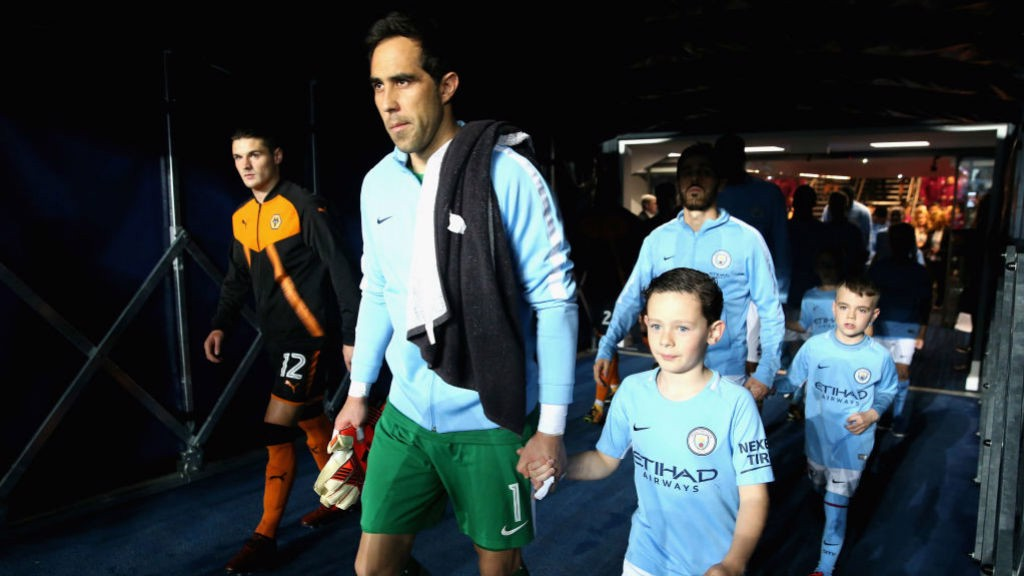 IN FORM: Claudio Bravo turned in an impressive performance against Wolves.