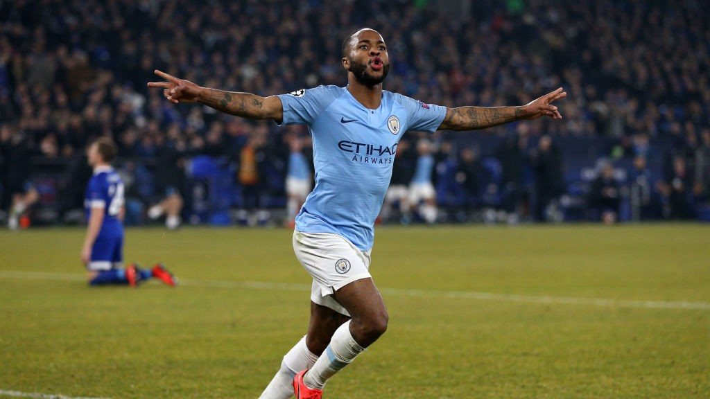 WINNER WINNER: Sterling slots home a dramatic last minute winner!