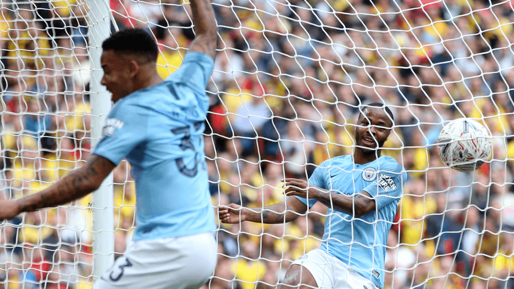 MAKING SURE OF IT: R̶a̶h̶e̶e̶m̶ ̶S̶t̶e̶r̶l̶i̶n̶g̶ Gabriel Jesus doubles City's lead...