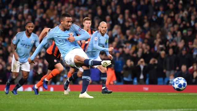 SPOT-ON: Gabriel Jesus coolly slots home City's second