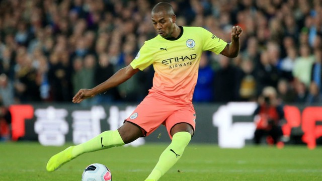 "DINHO: The make-shift centre-back praised City's ""focus"" in the victory over Palace."