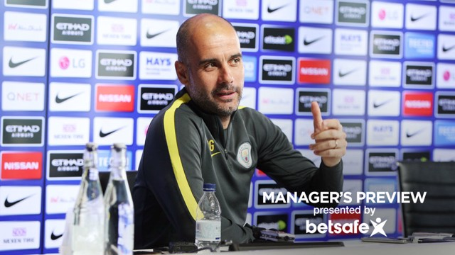 PEP: City's manager answered questions before the trip to Stamford Bridge in the Premier League