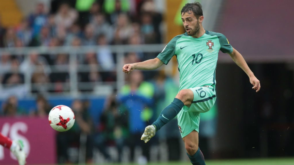 CLASS ACT: Bernardo Silva delivered a fine display in Portugal's 1-0 win over Russia this afternoon.
