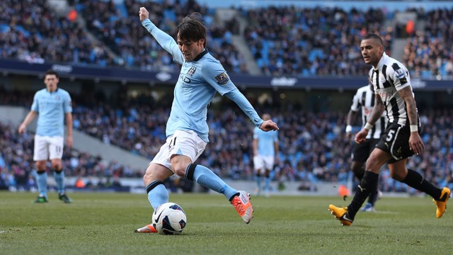 PREMIER LEAGUE CLASSIC: City fly out of the blocks against Newcastle