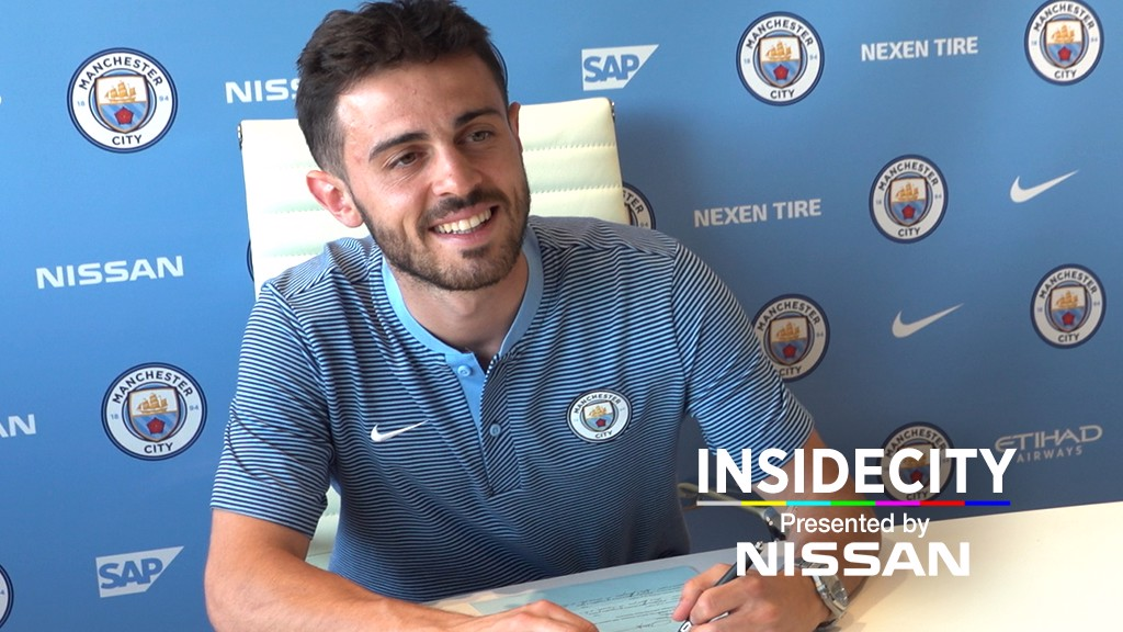 Bastidores do City: Especial Bernardo Silva
