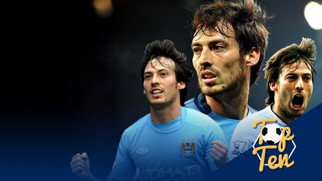 Silva #50: Top 10 gols Premier League