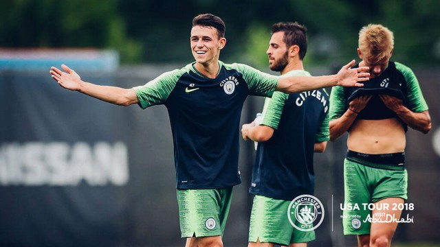 US TOUR 2018: Phil Foden says he is maturing as a player