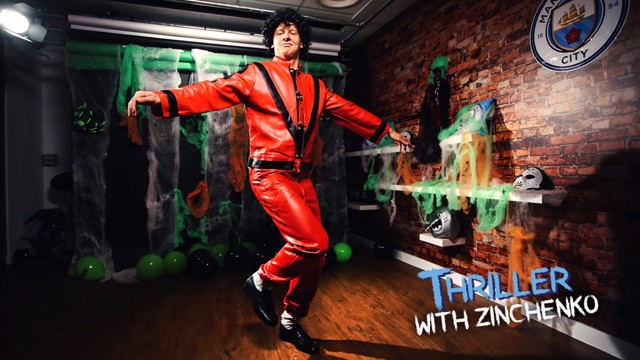 THRILLER: Oleksandr Zinchenko like you've never seen him before!