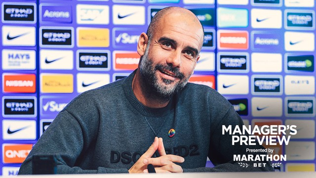 PREVIEW: Pep addresses the media...