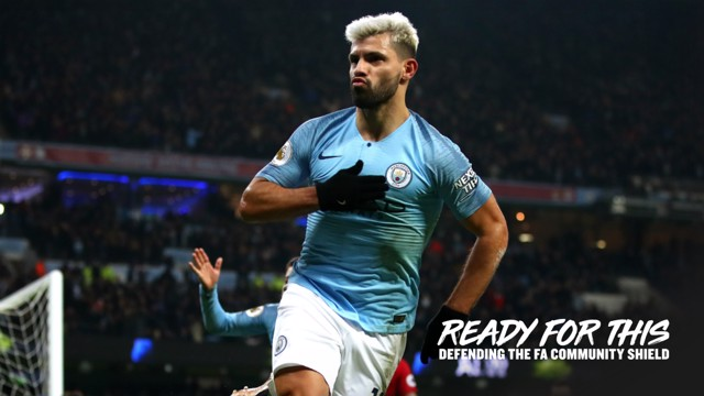 AGUEROOOOO: Sergio Aguero netted a belter against Liverpool in the crucial 2018/19 clash