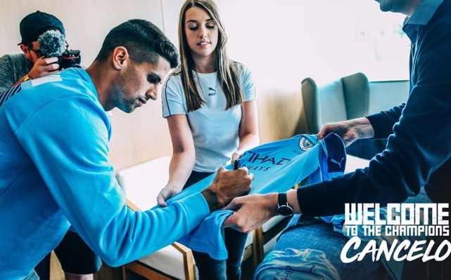 DONE DEAL: Joao Cancelo has signed for City.