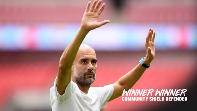 JOB DONE: City retained the Community Shield with a shoot-out win over Liverpool at Wembley