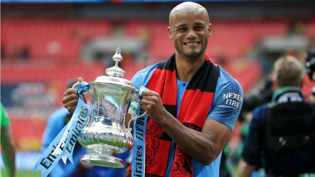 LEGENDARY FIGURE: Vincent Kompany is to leave Manchester City after an incredible, success-laden 11-year spell with the Club