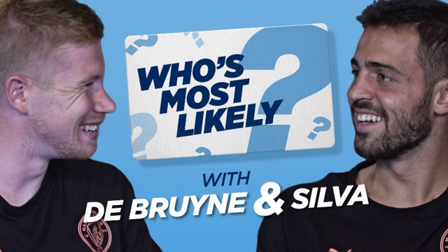 MOST LIKELY TO: Bernardo and KDB take part in the latest episode