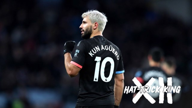 KING KUN: The Premier League record holder for the most hat-tricks.